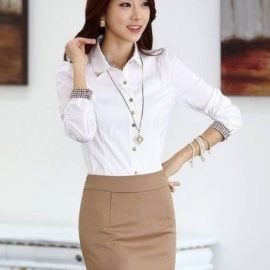 Sexy office lady option Outfit for Sex Doll