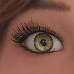 sex doll green eyes